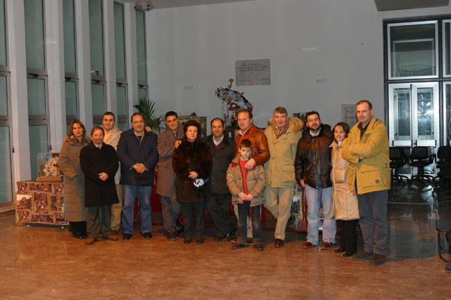 Foto di gruppo con alcuni partecipanti